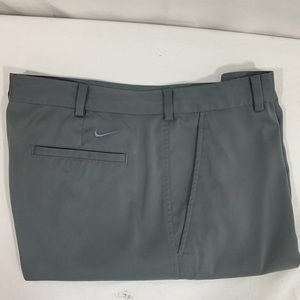 Nike Dri Fit Golf Shorts Gray Size 35